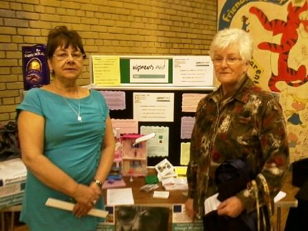 Omagh Women's Aid at PCSP Senior Citizens event